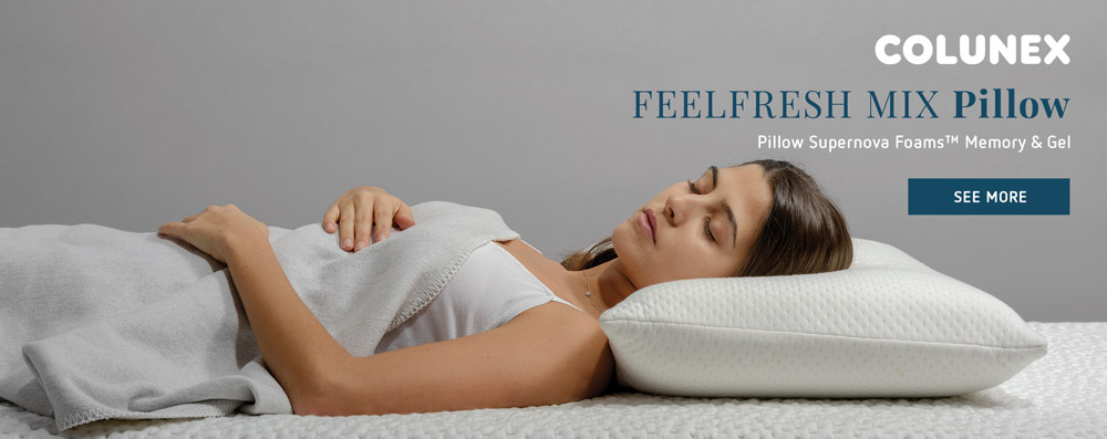 How to choose the right pillow | Colunex Feelfresh Mix Pillow pillow How to choose the right pillow the sleep journey how to choose the right pillow 05
