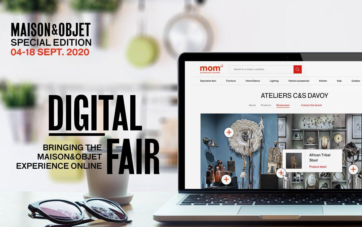 MOM Digital Fair maison&objet digital fair Maison&Objet Digital Fair: 4 to 18 September 2020 MOM Digital Fair2