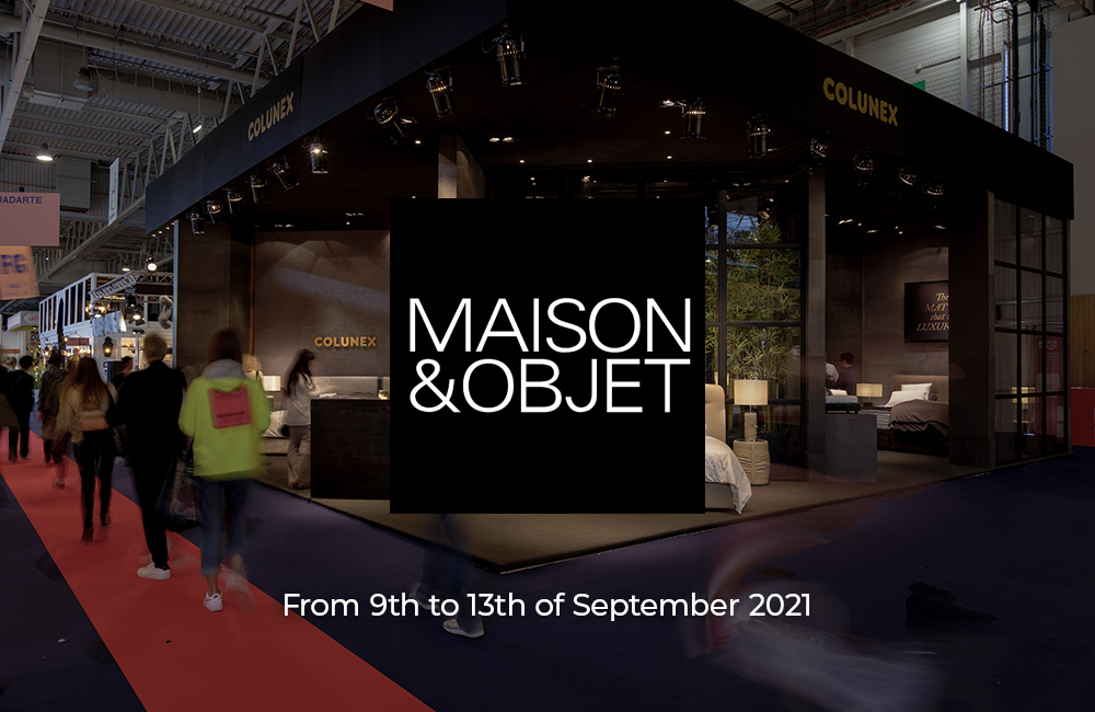 maison & objet 2021 Maison & Objet 2021: Colunex Experience The sleep journey Colunex at Maison Objet 2021 01